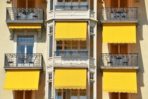 Balcony of a luxury hotel